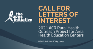 Image of ACR rural health outreach project ad