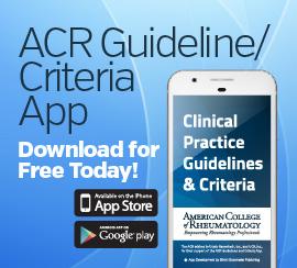 ACR Guideline/Criteria App