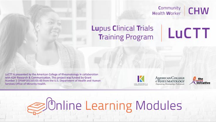 Lupus Clinical Trials Training Program | LuCTT