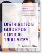 Document cover - Clinical trials distribution guide