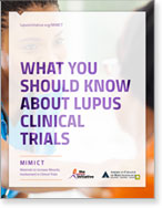 Document cover - What you should know about lupus